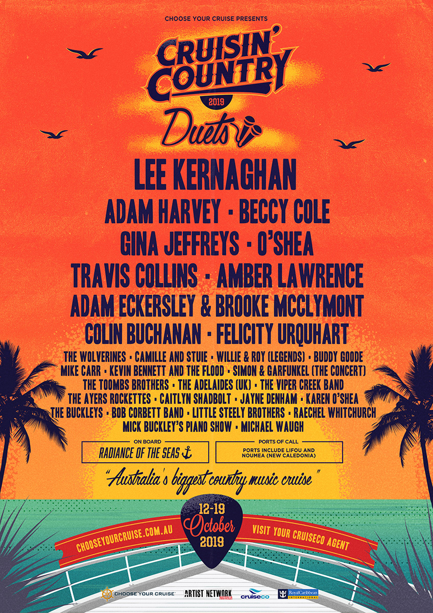Country Music Cruise 2020.Cruisin Country Australia S Hottest Country Music Cruise